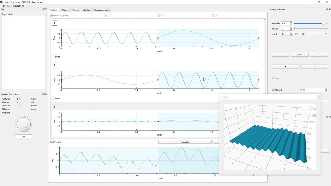 Interhaptics Integrates TacHammer Wideband Support for its Haptic Composer Software